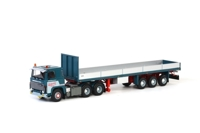 SCANIA 111/141 Flatbed Trailer (3 axle) J. Brouwer  (арт.  06-1023)