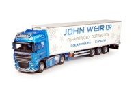 DAF XF105 Super Space Cap with reefer semitrailer  Weir, John  (арт.  64740)