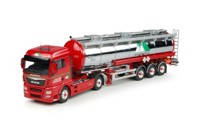 MAN TGX Euro 6 XLX with tanktrailer MAN TGX Euro 6 XLX with tanktrailer  (арт.  65112)