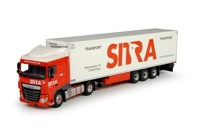DAF Euro 6 XF Space Cab with reefer semitrailer Sitra  (арт. 68042)