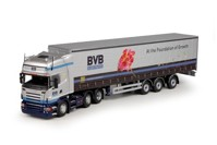 Scania R-serie Topline with curtainside semitrailer 3 axis BVB  (арт. 64437)