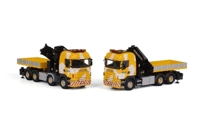 Set of 2 Scania R Highline Keller & Hess  (арт. 01-1422)