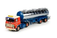 Scania 1-serie with 3 axle Classic tanktrailer Hellestrup, Martin  (арт. 68097)