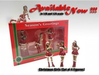 Christmas Girls (Set of 4)  (арт.  AD-23848)