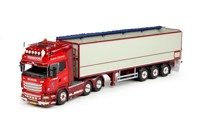 Scania R-serie Topline with potato-semitrailer  Transoord  (арт.  65505)
