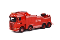 Scania R Streamline Highline Falck  (арт.  01-1666)