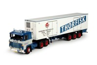 Scania 1-serie with Classic reefer semitrailer Thorfisk  (арт. 67551)