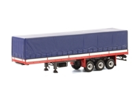 Classic Curtain Sided Trailer WSI Premium Line  (арт. 13-1028)