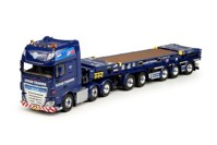 DAF Euro 6 XF Super Space Cab combitrailer and flatrack Ocean Traders  (арт. 65184)