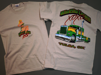 футболка Big Rig Tees XOXO  (арт.  A005)