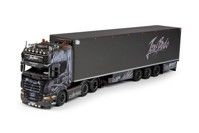 Scania R-Serie Topline with reefer semitrailer  Bode, Jens  (арт.  65512)