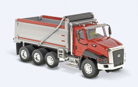 Cat CT660 Dump Truck red  (арт.  70030)