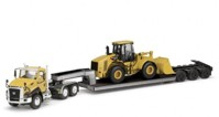 Cat CT660+Lowboy and Cat 950H Wheel Loader  (арт. 	70024)