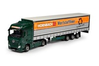 Mercedes Benz Actros Bigspace with curtainside semitrailer Hornbach  (арт.  68684)