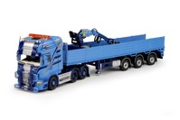 Scania R-serie Topline with 3 axle stone trailer Schumacher  (арт. 67378)
