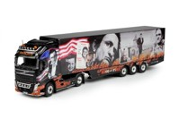 Volvo FH04 Globetrotter XL with reefer semitrailer Gesuko, Johnny Cash  (арт. 68664)