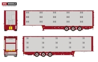 Live Stock Trailer (3 axle)  (арт.  04-1172)