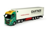 MAN TGX Euro 6 XXL with reefer semitrailer Gartner KG  (арт.  69234)