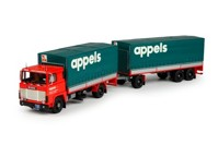 Scania 1-serie rigid truck with trailer Appels  (арт. 69126)