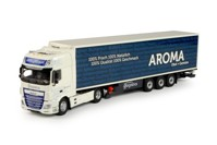 DAF Euro 6 XF Super Space Cab with reefer semitrailer ABC Logistics - Aroma  (арт. 69634)
