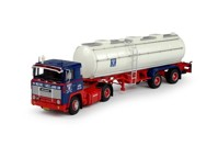 Scania 1-serie with classic tanktrailer Wetro  (арт. 69339)