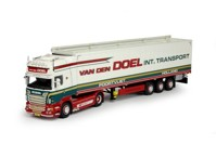 Scania R-serie Topline with Cargo floor trailer  Doel, Van den  (арт.  68376)