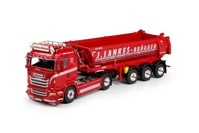 Scania R-Streamline Lowline with 3 axle tipper trailer Lankes  (арт.  69505)