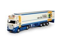 Mercedes Benz Actros Gigaspace with box semitrailer Steeg, Van der  (арт. 70118)