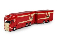 Scania R-Streamline Topline riged Truck with trailer Eijkel, H.C.P. van den  (арт.  69265)