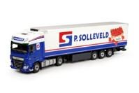 DAF Euro 6 XF Super Space Cab with reefer semitrailer  Solleveld, P.  (арт. 70924)