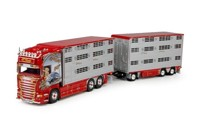Scania R-Streamline Topline ivestock rigid truck with trailer Curti, F.  (арт. 69127)