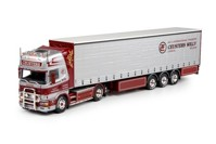 Scania 4-serie Topline 4x2 with curtainside semitrailer Ceusters, Willy  (арт. 69790)