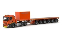 Scania R5 Lowline 6x4 with Nooteboom 6 axle Ballasttrailer Michielsens  (арт. 71305)
