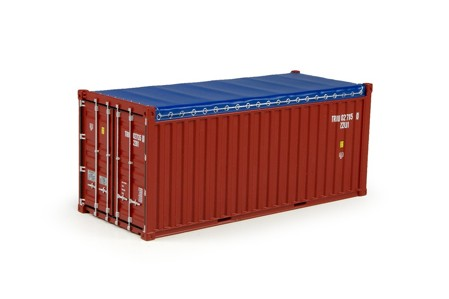20ft open top rental container  (арт.  70551)