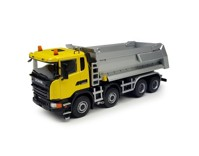 Scania 8x4 Tipper yellow (арт.  71643)