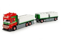 Scania R-serie Topline rigid truck with trailer for fish transport  Donslund  (арт. 68837)