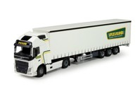 Volvo FH04 with curtainside trailer Nat, P van der (арт. 21555)
