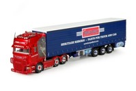 Scania R-Streamline Topline with curtainside semitrailer Coles & Sons (арт. 70664)