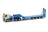 Scania R143 6x4 with Goldhofer 4 axle semi low loader Breuer (арт. 33-0045)