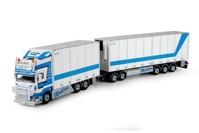 Scania R-Streamline Topline rigid truck with reefer trailer Mohlins  (арт. 70500)