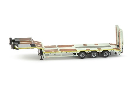 Euroflex 3 axle semi low loader  Premium series Nicolas (арт. 73082)