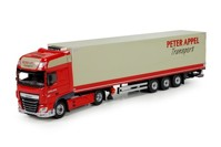 DAF XF Euro 6 SSC 4x2 with reefer semitrailer Appel, Peter  (арт. 71596)