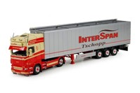 Scania R-serie Topline with Cargo floor trailer Interspan Tschopp   (арт. 71081)