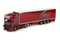 Scania R-serie Topline with reefer semitrailer TVX  (арт. 71357)
