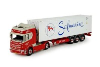 Scania NGS R520 4x2 with 3-axle flexitrailer and Safmarine reefer Windt, Van der  (арт. 71750)