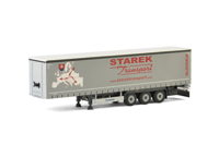 Curtainside Trailer (3 axle) Starek (арт. 01-2382)