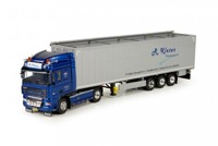 DAF XF105 Space Cab with Cargo floor trailer Kleter  (арт. 71285)