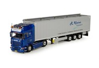 Scania R-serie Topline with Cargo floor trailer Kleter  (арт. 71286)