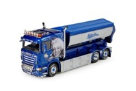 Scania R-serie Lowline rigid truck with hookarm container Mickes  (арт.  65818)