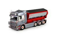 Scania R-Streamline Topline rigid truck with hookarm container Thiz Transport  (арт. 70910)